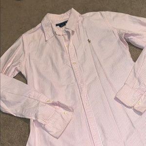 Cute stripped polo shirt